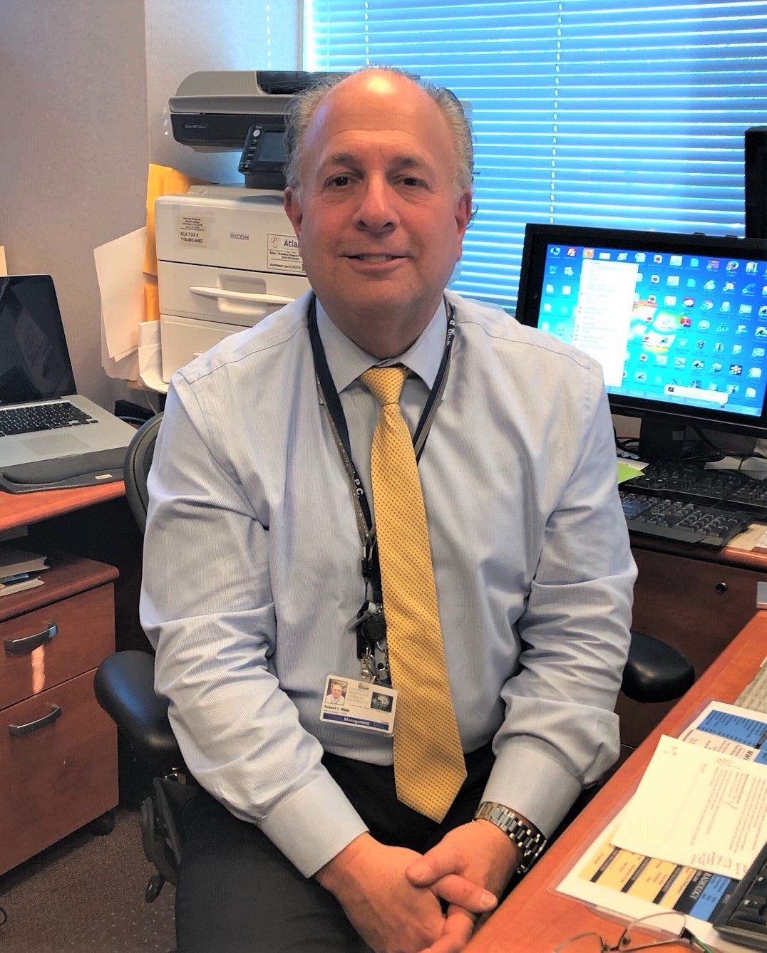 Robert Klein, practice administrator and chief operating officer of Universal Diagnostic Medical Imaging, shares how a CT calcium score exam uncovered a heart condition.